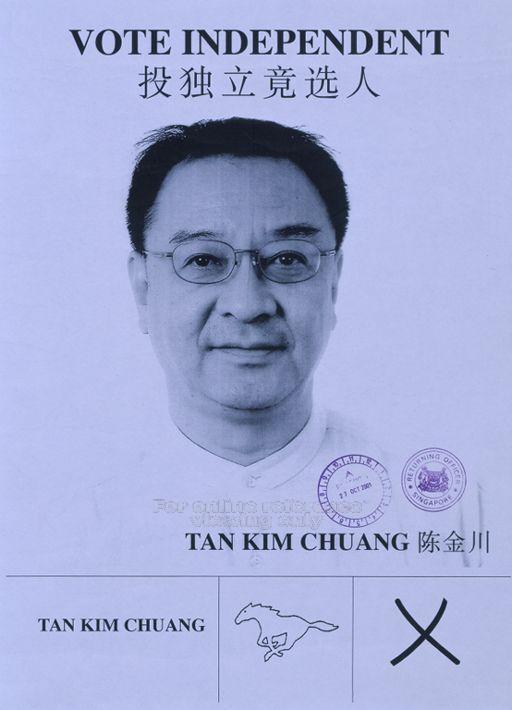 2001 IND Tan Kim Chuang