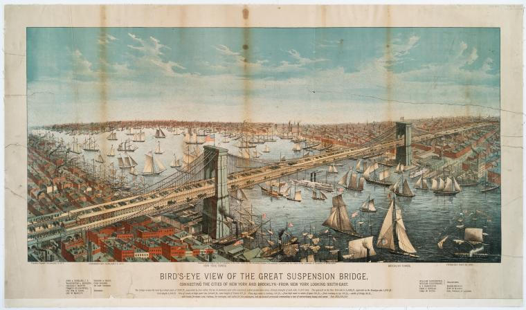 Birds-Eye-View-of-Brooklyn-Bridge-1883