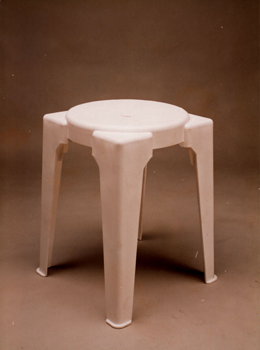 The Unica Plastic Stool | Pix: SINGAPLASTICS