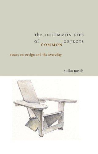 Uncommon Life of Common Objects