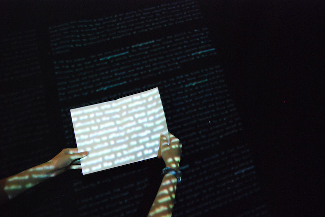 book projection