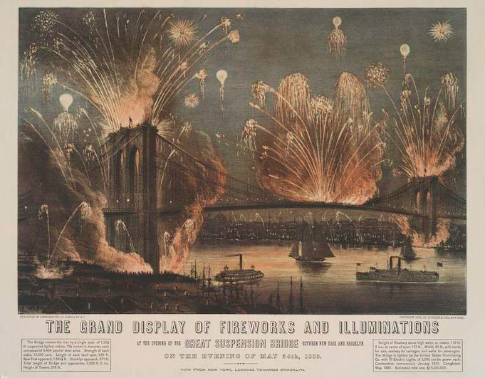 brooklynbridgefireworks1883